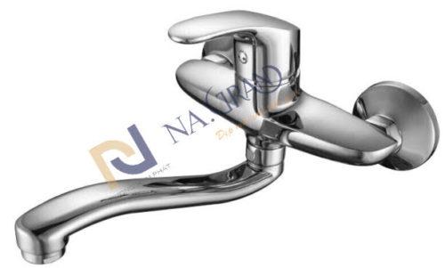 Vòi Rửa Chén Nóng Lạnh Âm Tường N-4007