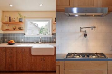 Những ý tưởng giúp bạn trang trí tấm chắn sau bếp tiện nghi hơn