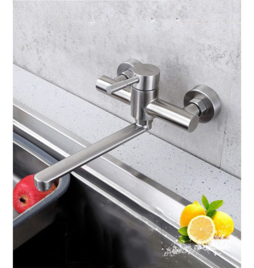 Vòi Rửa Chén Bát Âm Tường Nóng Lạnh N 4009