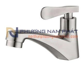 Vòi Rửa Mặt Lavabo Lạnh INOX 304 N-6001