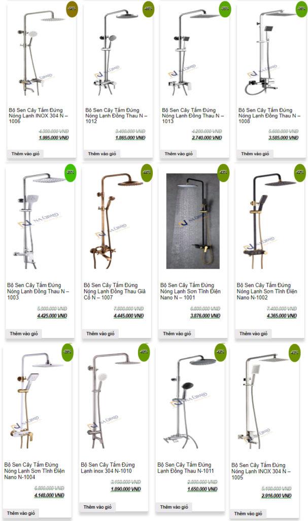 Khuyến mãi lớn khi mua sen cây tắm nóng lạnh chính hãng tại Phương Nam Phát Gia-sen-cay-tam-nong-lanh-607x1024