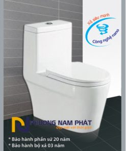 Bồn Cầu 1 Khối Kassani Thái Lan Cao Cấp 0833