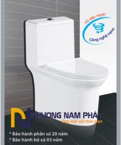 Bồn Cầu 1 Khối Kassani Thái Lan Cao Cấp 0898