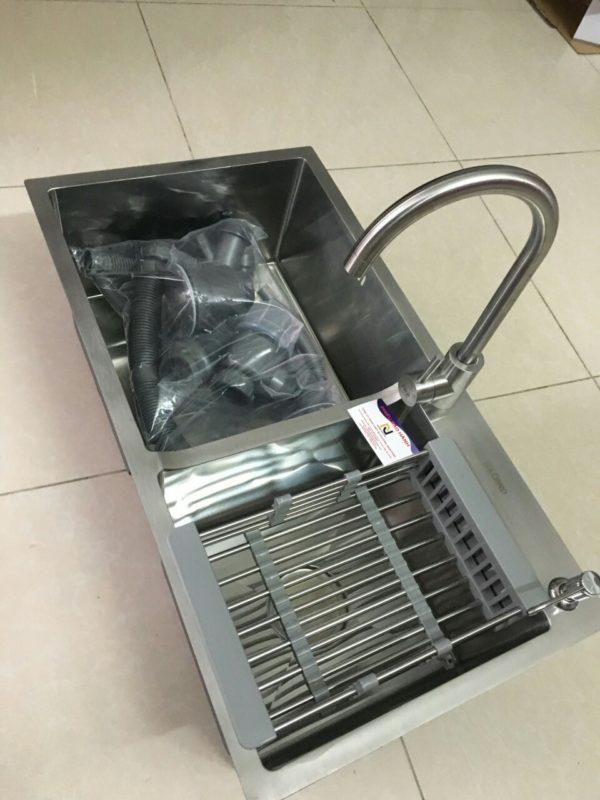 chậu rửa chén inox 304 N4 (hình thật)