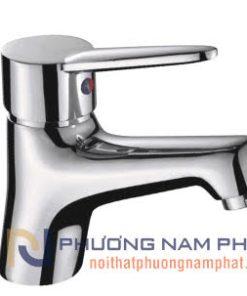 Vòi Rửa Mặt Lavabo Nóng Lạnh Mạ Crome và Niken N-3006