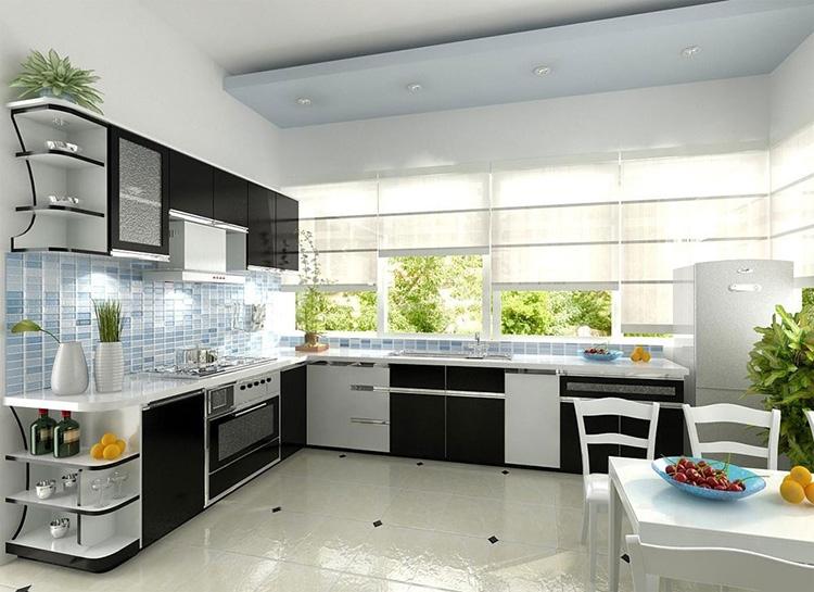 10 xu hướng trang trí nhà bếp đẹp