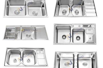 15 mẫu chậu rửa bát Inox mới nhất, đẹp nhất, hiện đại nhất