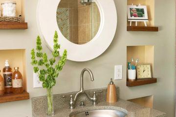 Những cách trang trí cho phòng tắm chật hẹp trở nên đẹp và tiện nghi hơn