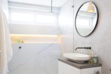 Cách biến không gian phòng tắm chật hẹp trở nên rộng thoáng hơn