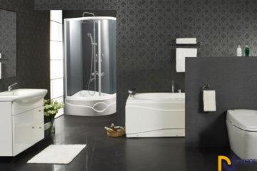 Những cách lựa chọn phụ kiện phù hơp với không gian phòng tắm