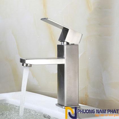 Vòi lavabo nóng lạnh inox 304 chính hãng cao cấp