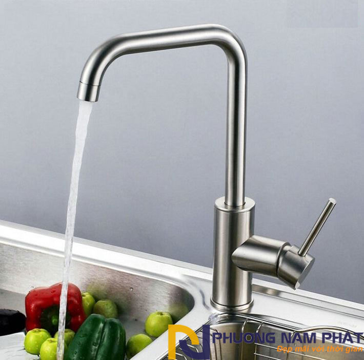vòi rửa chén nóng lạnh inox 304 cao cấp