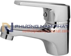 Vòi Rửa Mặt Lavabo Lạnh Mạ Crome và Niken N-6005
